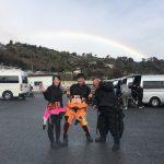 虹を眺めながらリフレッシュ講習!!