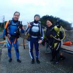 今日は城ヶ島でOW海洋実習でしたぁ〜♪