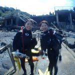 今日も川奈で最高のダイビング!!