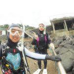 カメと体験ダイビング〜