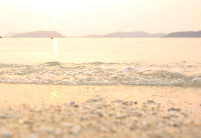 沖縄 慶良間 夕陽