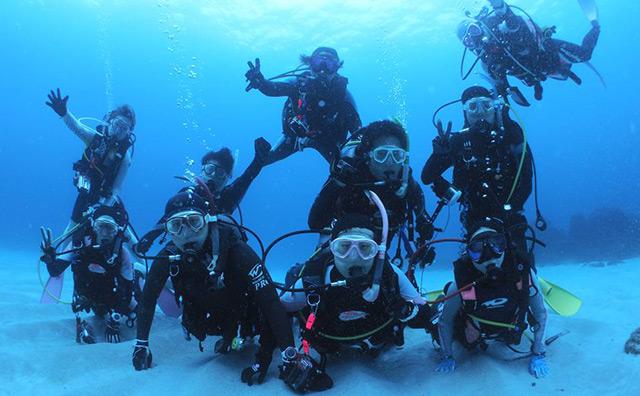 企業・団体の方ののダイビング活動を応援