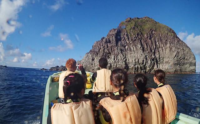 御蔵島の近海